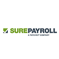 SurePayroll logo linking to website