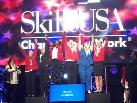 Photo of Skills USA National winners of 2019